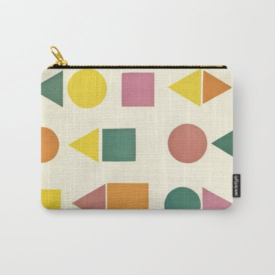 Shape Sorter Carry-All Pouch