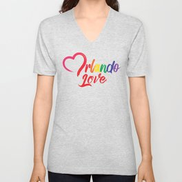Heart Orlando Love Unisex V-Neck