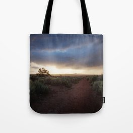 New Mexico Sunset Tote Bag