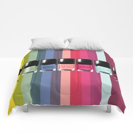 C-H-A-N-E-L Designer Nail Polish Print Comforters