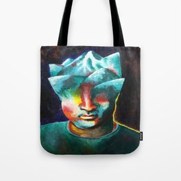 Mountains On My Mind Tote Bag