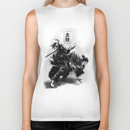 Taiko - Dance of the swords Biker Tank
