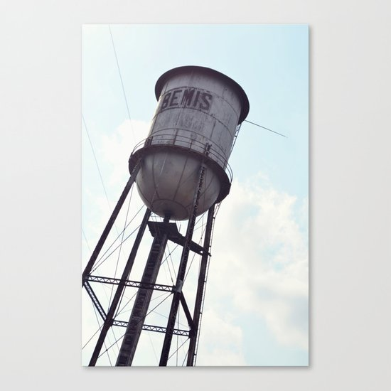 THAT OLD MILL Canvas Print