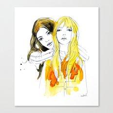 E and Gabrielle Canvas Print