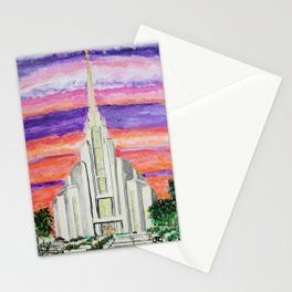 Rome Italy LDS Temple Stationery Cards