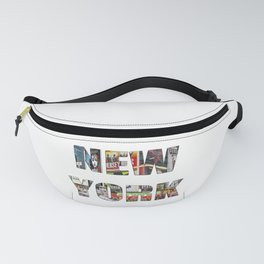 New York (typography) Fanny Pack