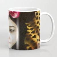 minnie Mugs featuring minnie by NAME THEGREY