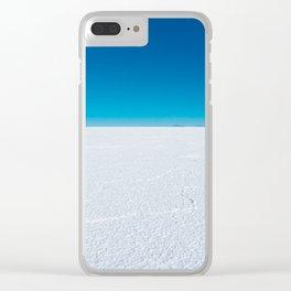 Salt Flats, Salar de Uyuni, Bolivia Clear iPhone Case