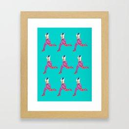 puppet legs Framed Art Print