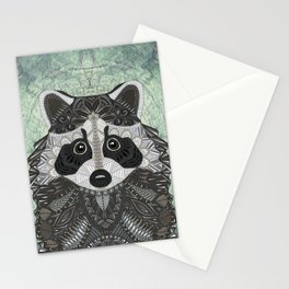 Ornate Raccoon Stationery Cards