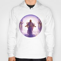 christ Hoodies featuring Christ-Kay by Disk System