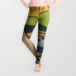 Teepee native sun Leggings