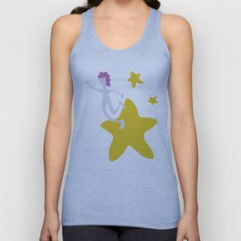 Reach for the Stars - Yellow Unisex Tank Top