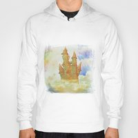 castle in the sky Hoodies featuring castle in the sky by Ancello