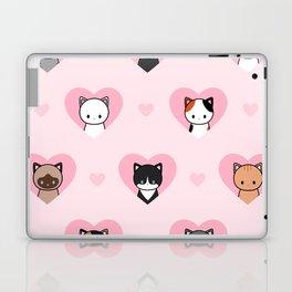 Cat love Laptop & iPad Skin