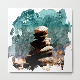 Find Balance in Your Life Metal Print