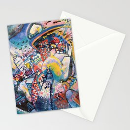 Moscow by Wassily Kandinsky Stationery Cards