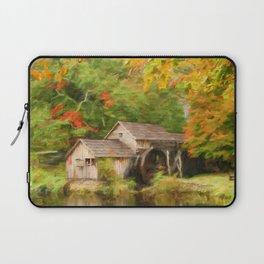 Mabry Mill Autumn Laptop Sleeve