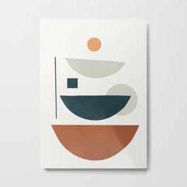 Minimal Shapes No.36 Metal Print