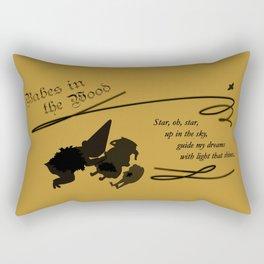 Babes in the Wood Rectangular Pillow