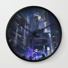 Nuit Wall Clock