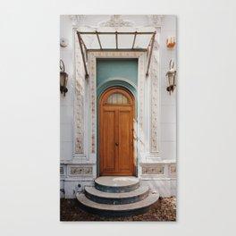 Distinguished door in Buenos Aires neighbourhood, Argentina Canvas Print