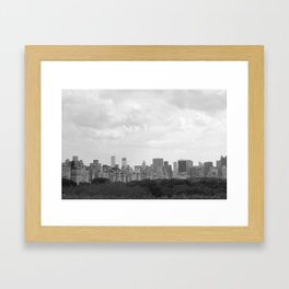 New York, New York Framed Art Print