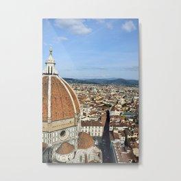 Duomo and the city Metal Print