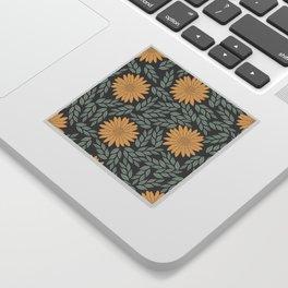 Autumn Flowers Sticker