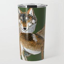 Totem Carpathian wolf Travel Mug