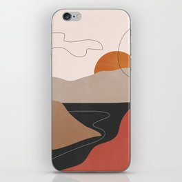 Abstract Art / Landscape 2 iPhone Skin