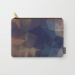 Abstract polygonal Carry-All Pouch