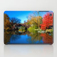 central park iPad Cases featuring Central Park by Davide Carnevale
