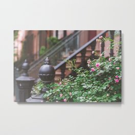 West Village Summer Nights Metal Print
