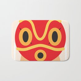 Princess Mononoke Block Bath Mat