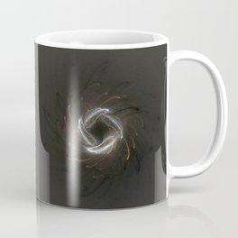 Metallic Swirl Fractal Coffee Mug