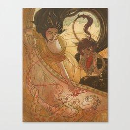 The Bone Needle Canvas Print