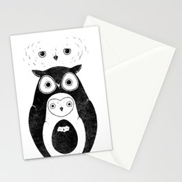 Owlnion - The Owls Stationery Cards
