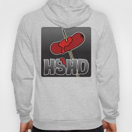 Horrorshow Hot Dog Logo - Cocktail Weenie variant Hoody