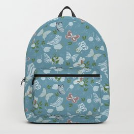 Butterfly Flowers 1 Backpack