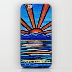 Champlain Sunset iPhone & iPod Skin
