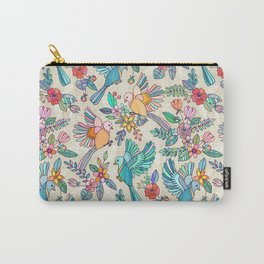 Whimsical Summer Flight Carry-All Pouch