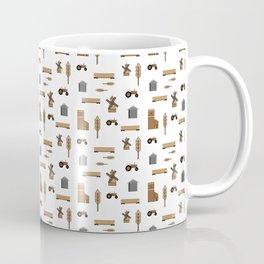 Pattern: Wheat Way Coffee Mug