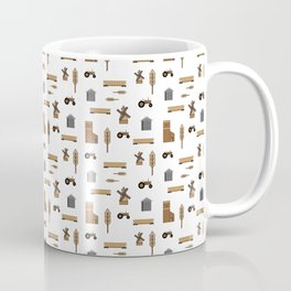 Pattern: Wheat Way Coffee Mug