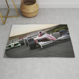 Leading the pack Rug