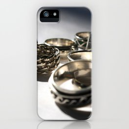 Anniversary Rings iPhone Case