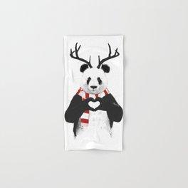 Xmas panda Hand & Bath Towel