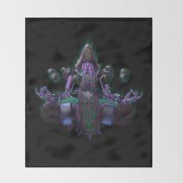 Cultist Zenyatta Throw Blanket