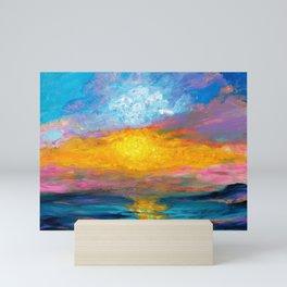 Evening Glow Mini Art Print