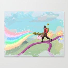 Do you believe in magic? Canvas Print